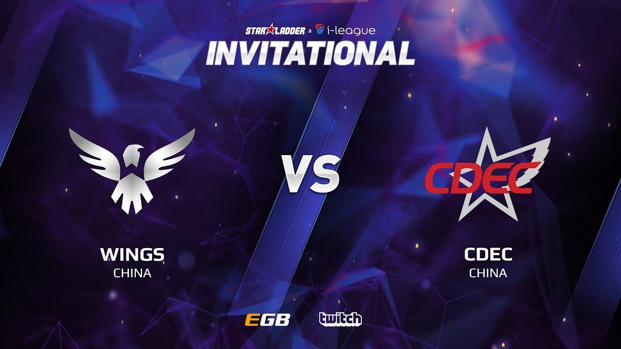 Wings vs CDEC, Game 1, SL i-League Invitational S2, CN Qualifier