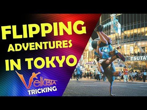 ADVENTURES IN TOKYO vlog - VellusTa Tricking Team 2017