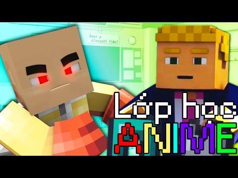 Minecraft Lớp Học Anime #34 - SAITAMA ĐẤU VỚI DONALD TRUMP!! Co-op Jaki Natsumi