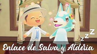 EL SUEÑO DE LA BODA DE SALVA Y ALDERIA   CORTO ANIMAL CROSSING NEW HORIZONS