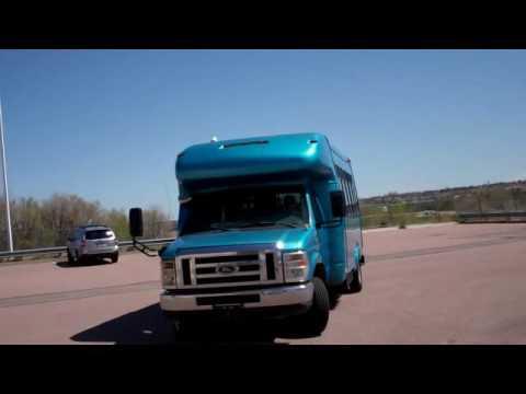 GovDeals: 2008 Ford E450 SD Paratransit Shuttle Bus (13 + 6