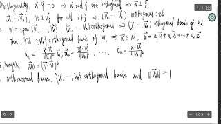 线性代数复习(十):内积,正交性,投影与分解定理 inner product, orthogality and projection