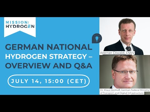 ​​​​​​​German National Hydrogen Strategy – Overview and Q&A