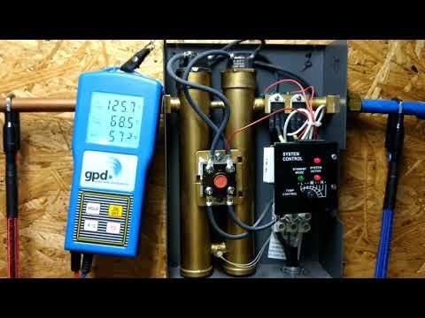 Rheem tankless water heater temp control problem