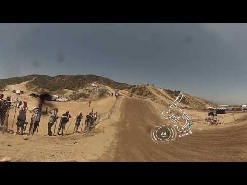 Garmin VIRB 360: Glen Helen Moto with Pro Jeremy Martin