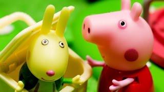 Мультфильм для детей 2016 Свинка Пеппа. Играем в прятки. Мультик для детей и истории игрушек