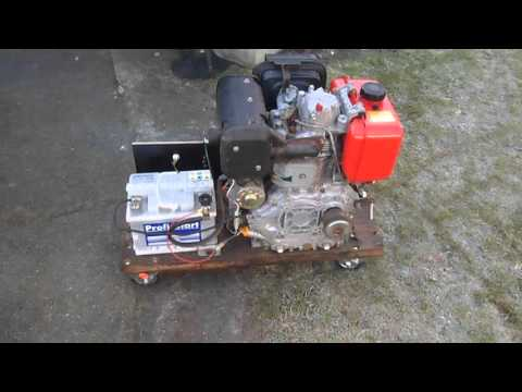 Dieselmotor Yanmar L90 Kaltstart -3 C°
