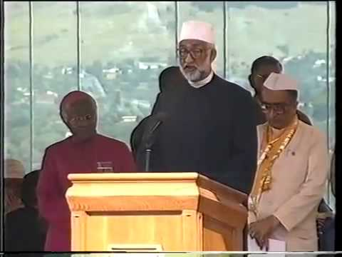 Full Nelson Mandela Inauguration on 10th of May 1994