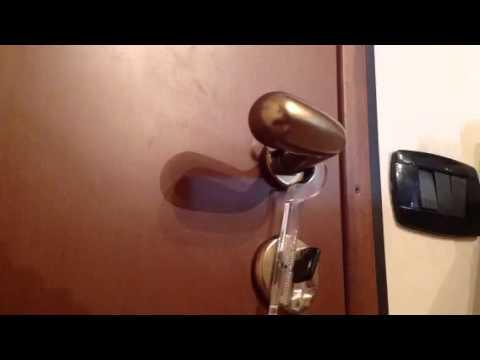 Fermachiave rendi la tua porta blindata ancora pi sicura - Smontare maniglia porta ...