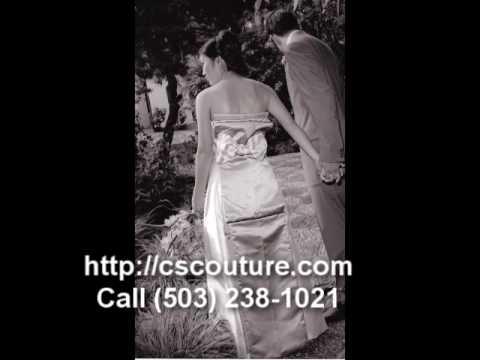 Custom Bridal Couture Dresses Portland, Oregon
