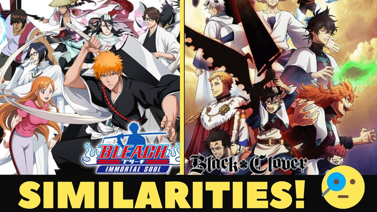 5 Bleach and Black Clover similarities! - YouTube