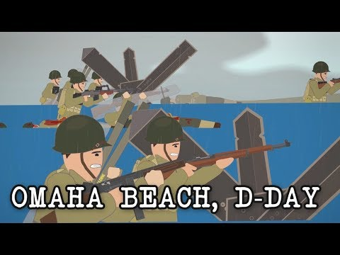 Omaha Beach, D-Day (June 6, 1944)