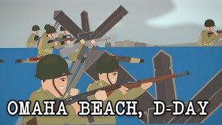 Omaha Beach, D-day  June 6, 1944