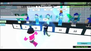 ROBLOX! Roblox's Top Model. (fyi, PLAY THIS GAME!!! IT'S AWESOME!)