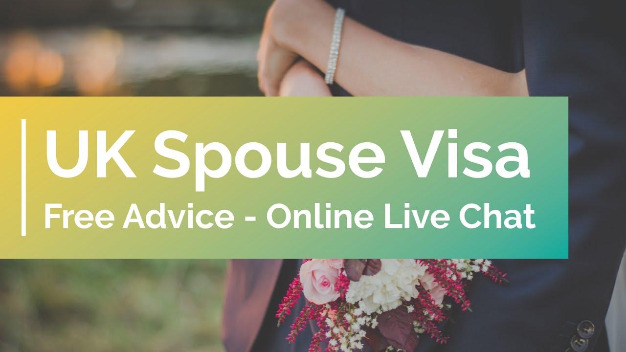 UK Spouse Visa Free Advice - Online Live Chat
