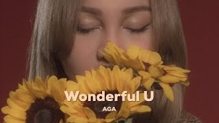 Download lagu AGA 江海迦 -《Wonderful U》 MV