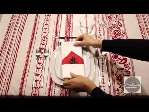 Come Preparare Una Tavola Natalizia. Christmas Table
