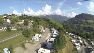 Camping Seiser Alm Dji F450 GoPro Hero 3 BE Video 2