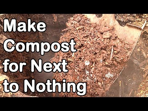 How We Make All Our Compost For Next To Nothing - How to Make Compost