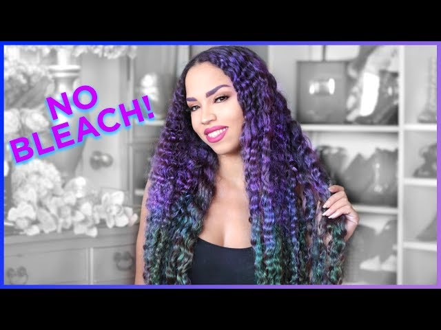 I DYED MY HAIR! HOW I DYE MY HAIR WITHOUT BLEACH + GIVEAWAY Hush Prism Airbrush Spray Review Sephora