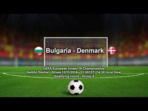 Bulgaria - Denmark U19