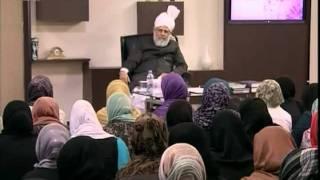 Gulshan-e-Waqfe Nau Lajna, 24 Apr 2011, Educational class with Hadhrat Mirza Masroor Ahmad(aba)