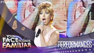"Your Face Sounds Familiar: Kakai Bautista as Sheena Easton - ""Telephone"""
