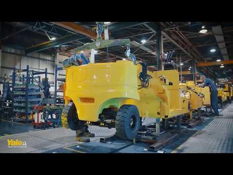 Вилочные электрические погрузчики Yale - электропогрузчики YALE до 5, 5 тонн - КИИТ