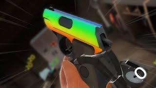 TF2: Rainbow Fidget Spinner Pistol