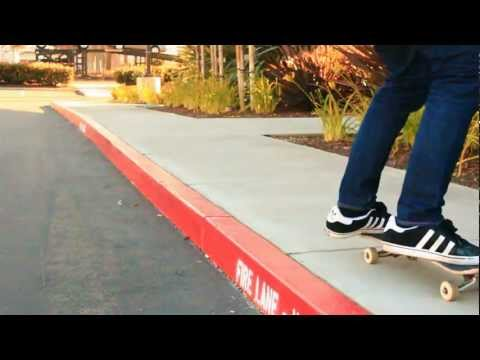 HOW TO OLLIE UP A CURB THE EASIEST WAY TUTORIAL