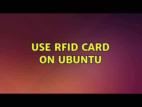 Ubuntu: Use RFID Card On Ubuntu