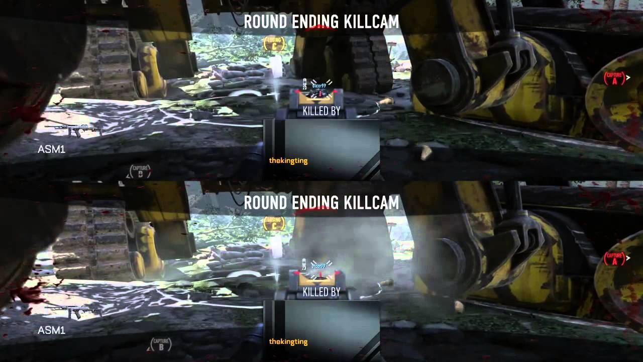 cod advanced warfare 4 player split screen