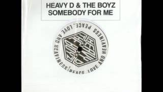 Heavy D & The Boyz - Somebody For Me (Instrumental) 12""