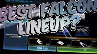 Best Millennium Falcon Lineup No Hounds Tooth Star Wars Galaxy Of Heroes