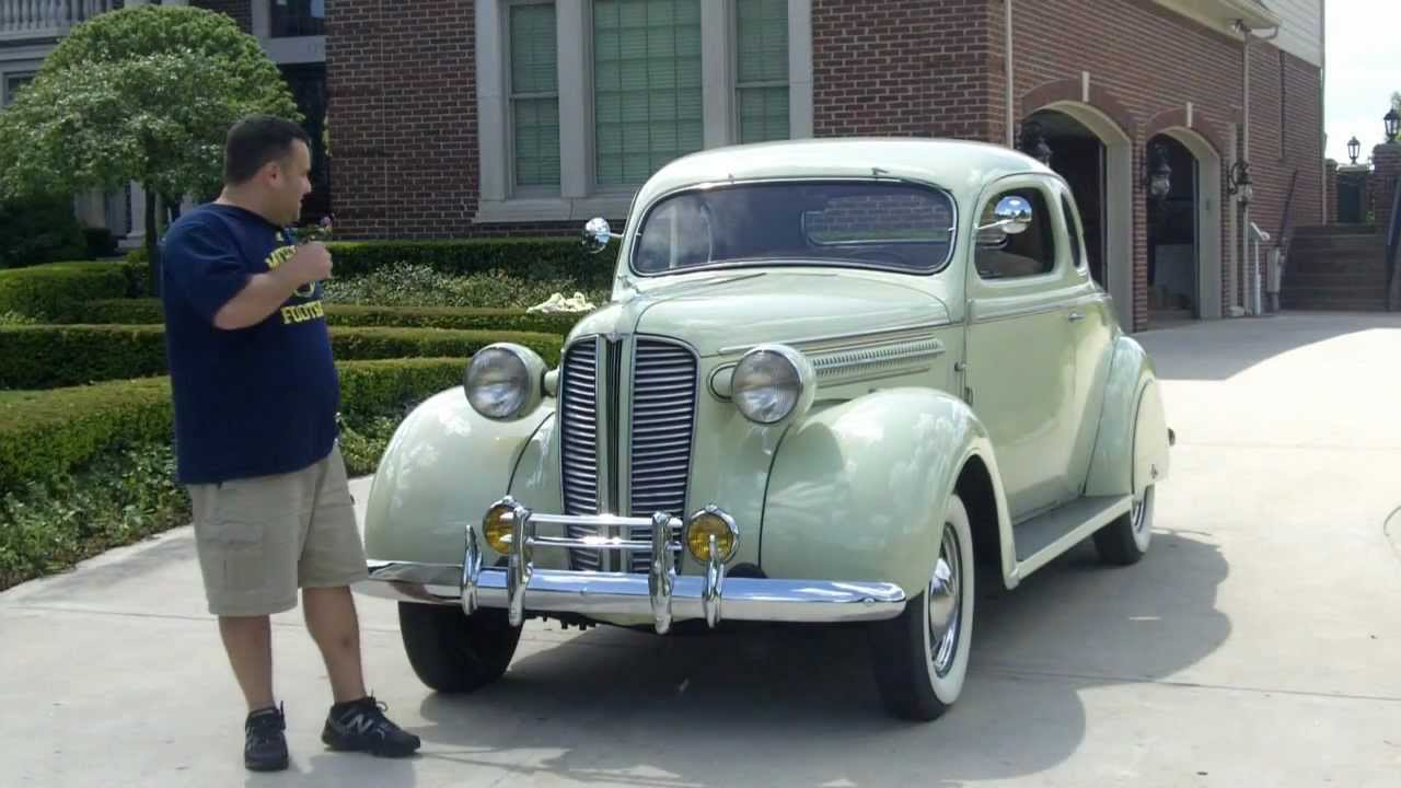 1937 Dodge Brothers Business Coupe Classic Car For Sale In