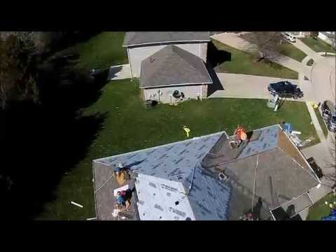 Premier Property Services Roofing Contractor Birds eye view Jefferson City, MO