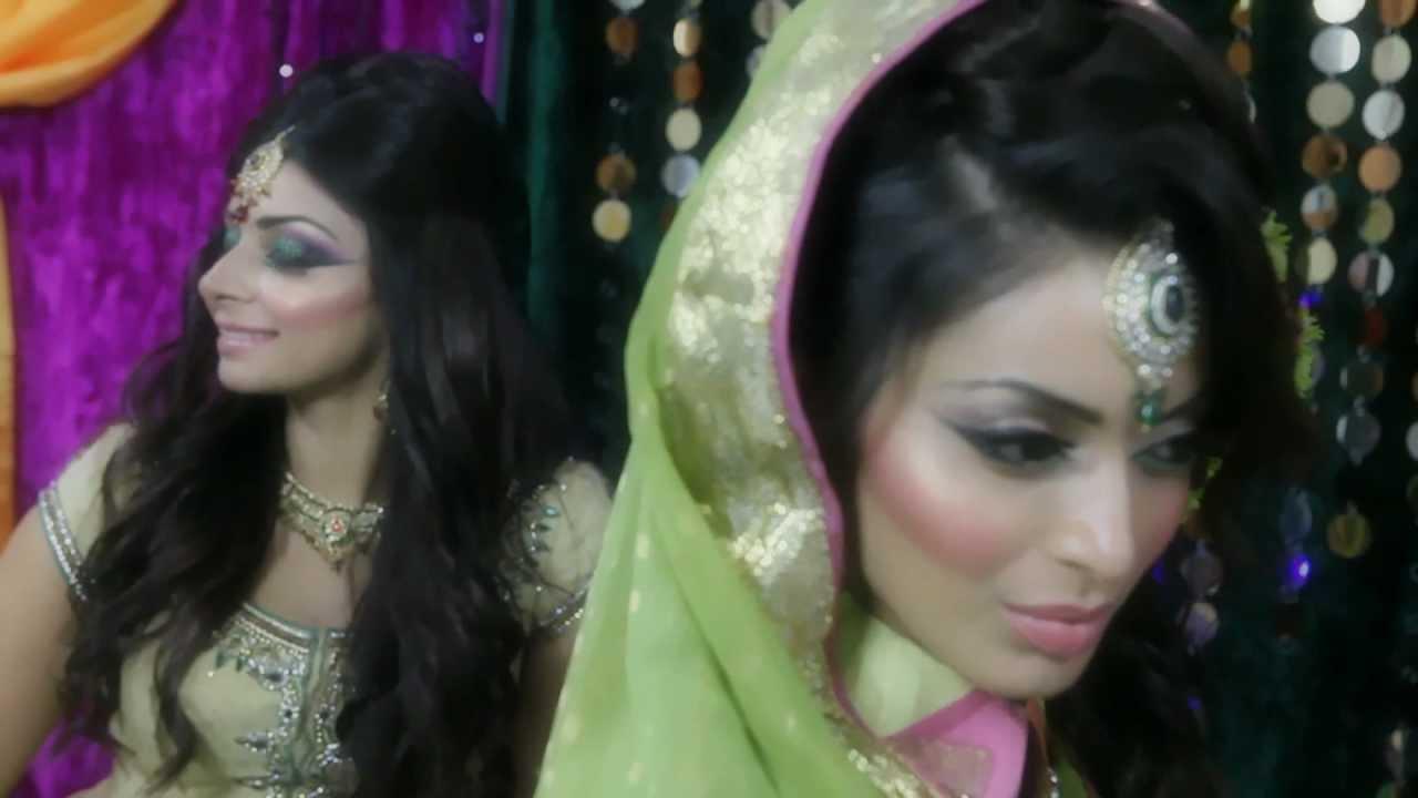 Mendhi asian bridal makeup tutorial by mus youtube mendhi asian bridal makeup tutorial by mus baditri Images