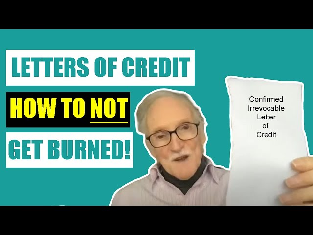Letters of Credit Explained - The Basics