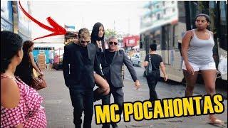 FINGI SER A MC POCAHONTAS COM 2 SEGURANÇAS!!! - MAKE E LOOK!
