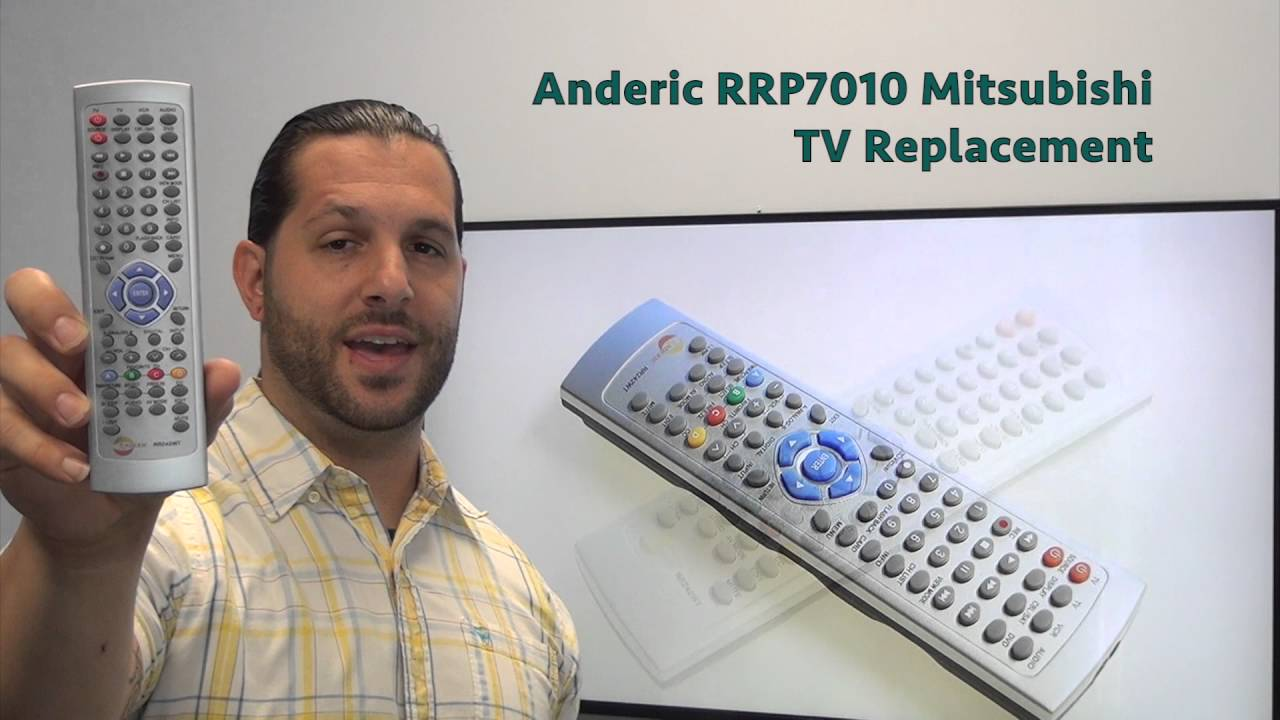 ANDERIC RR242WT Sharp TV Remote Control - www ReplacementRemotes com