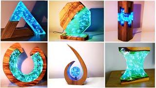 15 Most Amazing Epoxy Resin Lamps / Resin Art