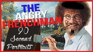 Let's Play 90 Second Portraits - THE ANGRY FRENCHMAN! - 90 Second Portraits Gameplay!