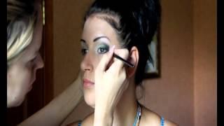 Вечерний макияж. Школа макияжа Ludmila Bessonova