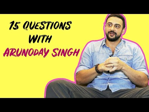 Arunoday Singh Reveals All His Secrets In 15 Questions | Exclusive Interview | POP Diaries