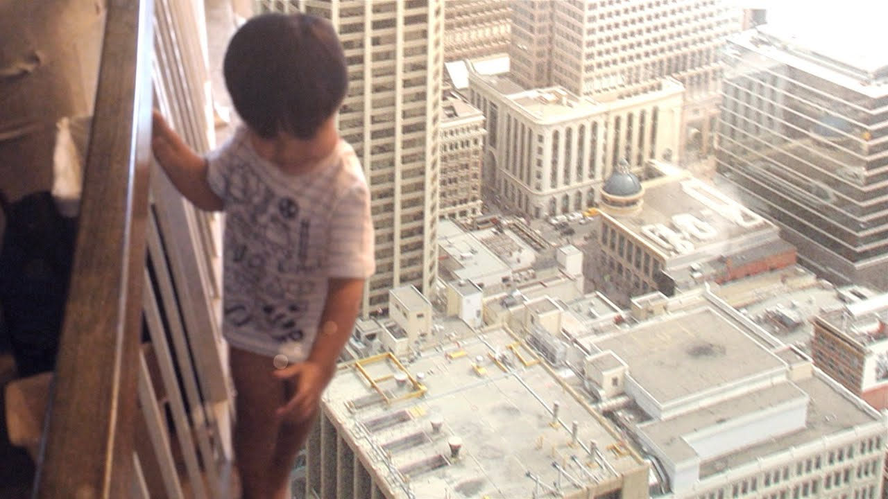 Why children do not know the fear of heights