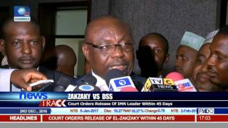 Zakzaky Vs DSS: Court Orders Release Of IMN Leader Within 45 Days