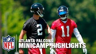 Atlanta Falcons 2016 Minicamp Highlights | NFL