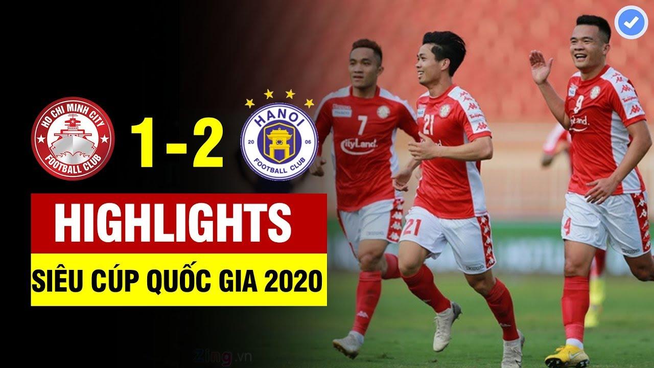 Highlights CLB TP.HCM 1-2 Hà Nội FC | Công Phượng lập siêu phẩm chấn động, hàng thủ HCM sai lầm lớn