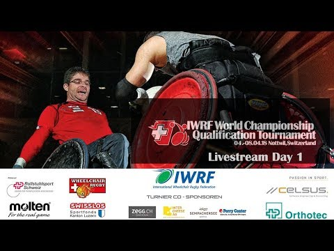 IWRF World Championship Qualification Nottwil: Day 1