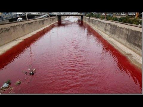 FIM DO MUNDO EM 2017 ?! - Águas viram sangue